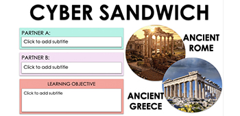 link to cyber sandwich template