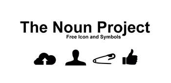 link to the noun project website